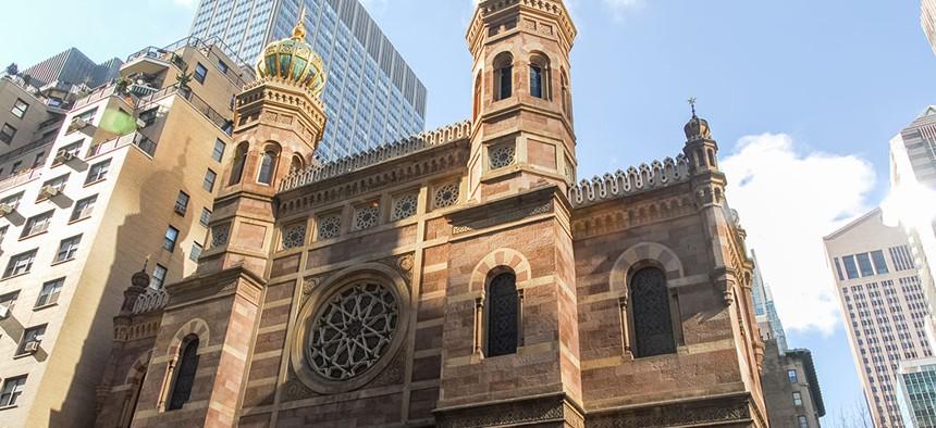 Central Synagogue in Midtown Manhattan.
