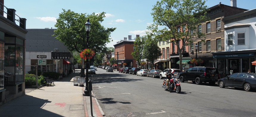 The village of Tarrytown in Westchester County.