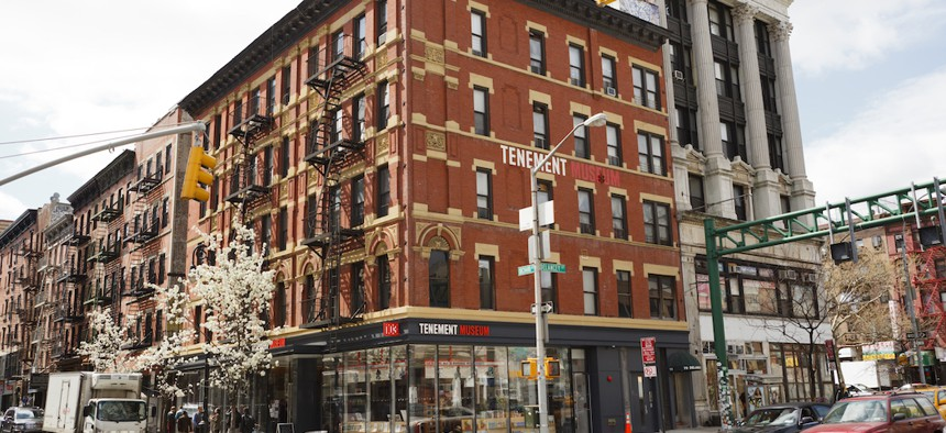 The Tenement Museum is among the cultural institutions hardest hit by COVID-19.