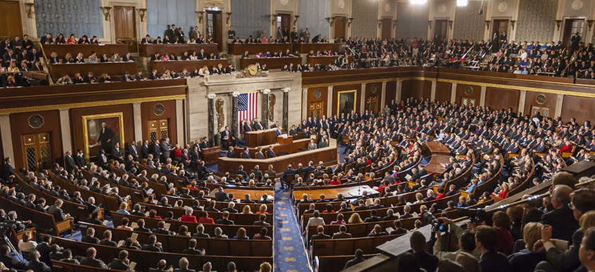 Inside a joint session at the U.S. Congress