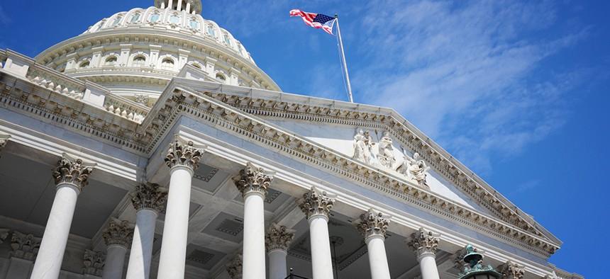US National Capitol in Washington, DC.