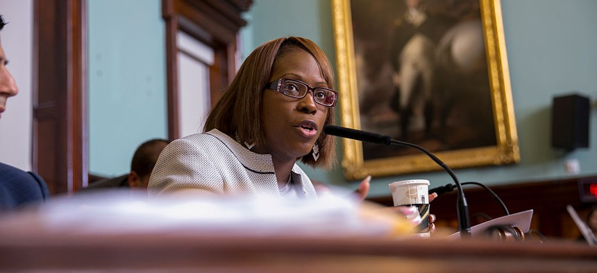 New York City Councilwoman Vanessa Gibson.