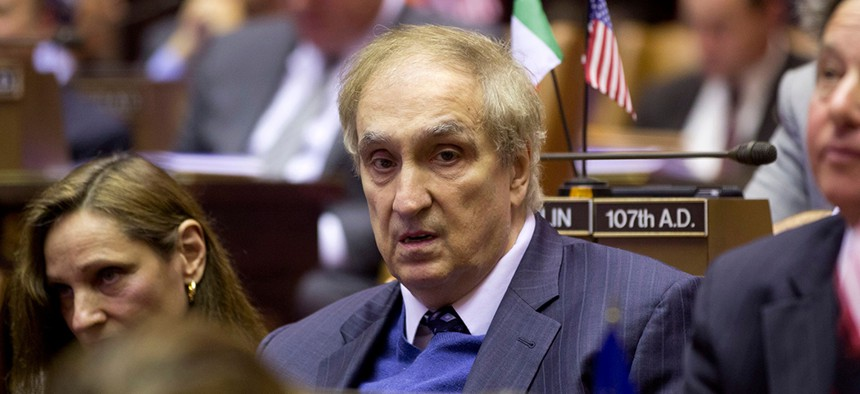 Former Assemblyman Vito Lopez during session at the Capitol in Albany, 2013.