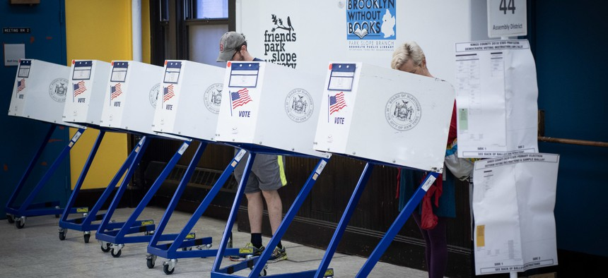 The state Legislature has taken the first step to codifying parolee's right to vote.