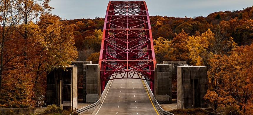 A bridge in Westchester county.
