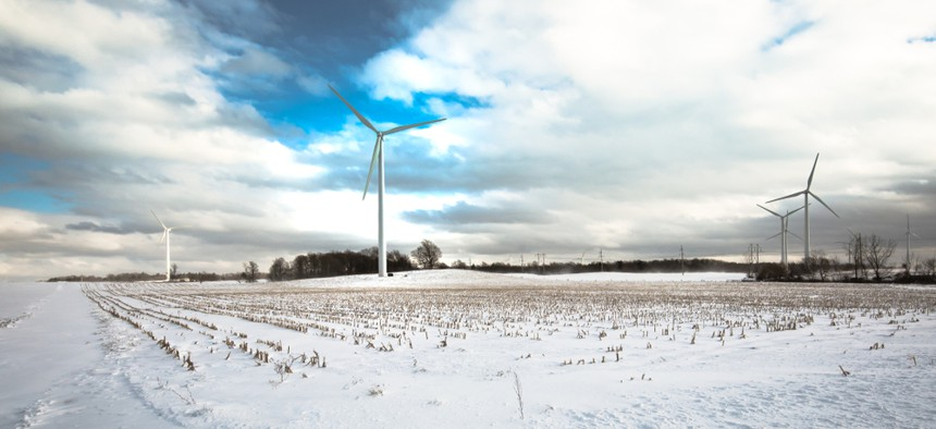 Currently, New York only uses 3 percent wind energy.