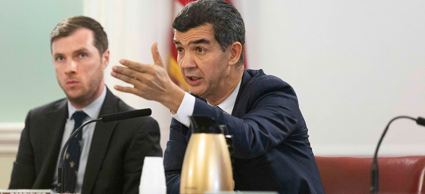Ydanis Rodriguez chairs the city council transportation committee