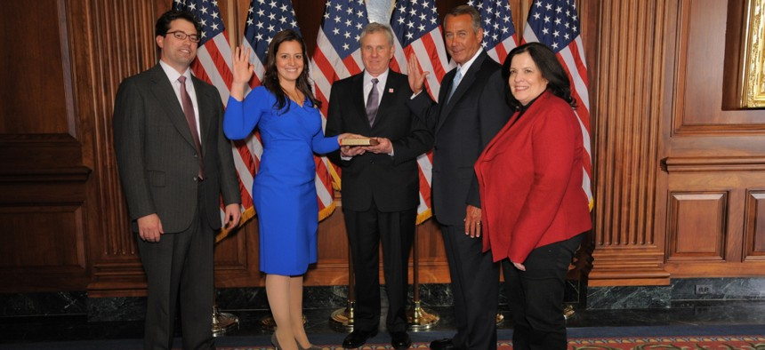 Rep. Elise Stefanik has come a long way since being the youngest woman elected to Congress in 2015.