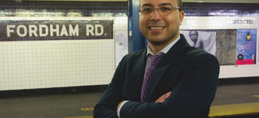 Newly elected New York City Council member Oswald Feliz.