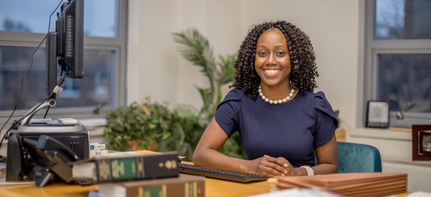 Yonkers City Council Member Shanae Williams