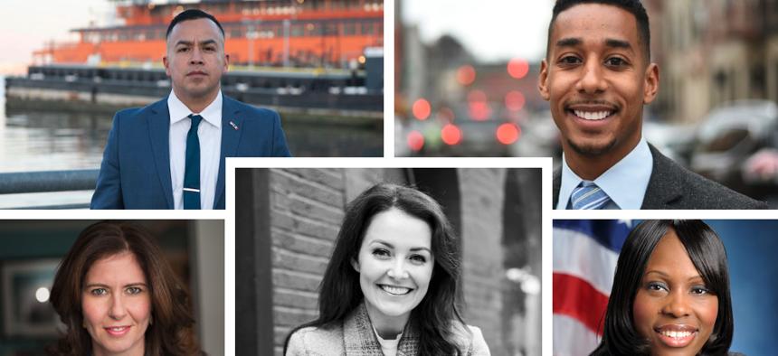 Borough president candidates
