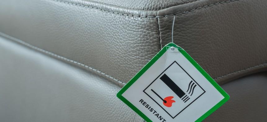 Flame resistant furniture