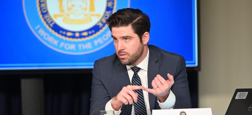 Gareth Rhodes, a longtime aide to Gov. Andrew Cuomo.