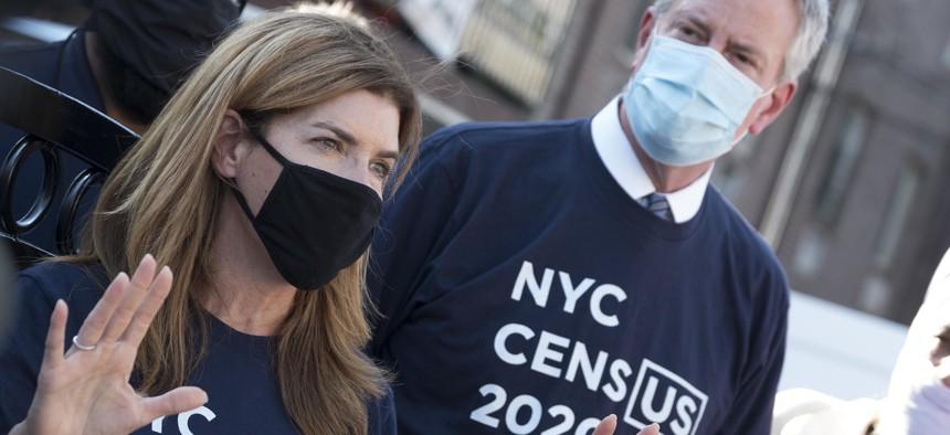 NYC's former census czar Julie Menin.