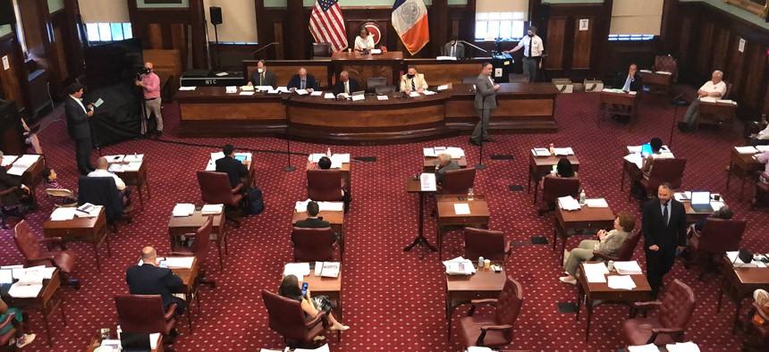New York City Council at City Hall