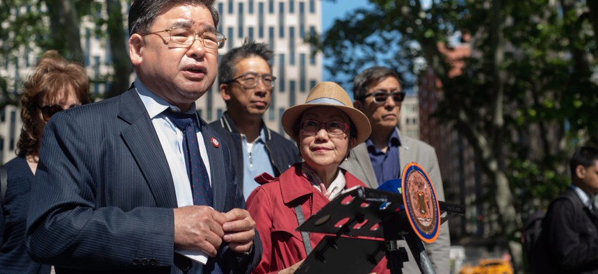 New York City Council Member for District 20, Peter Koo.