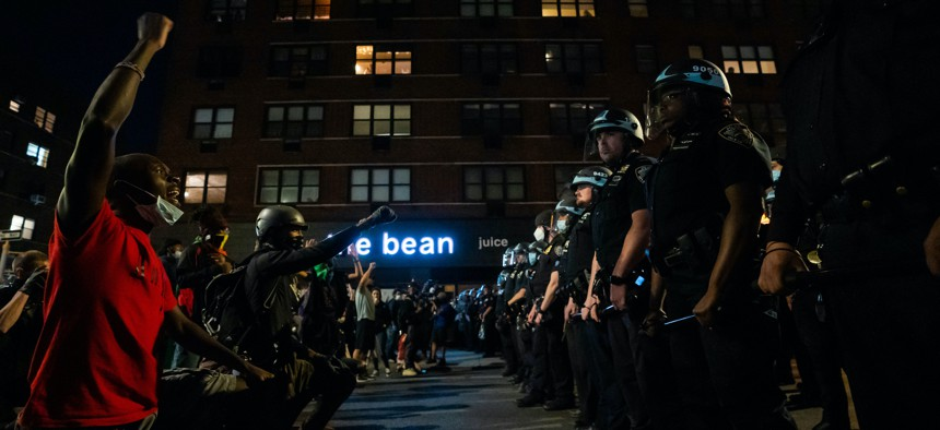 New legislation would require future NYPD officers to live in New York City. The police union argues the cost of living is too high and salaries are too low.