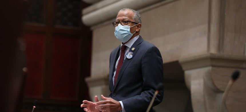 New York State Senator Robert Jackson