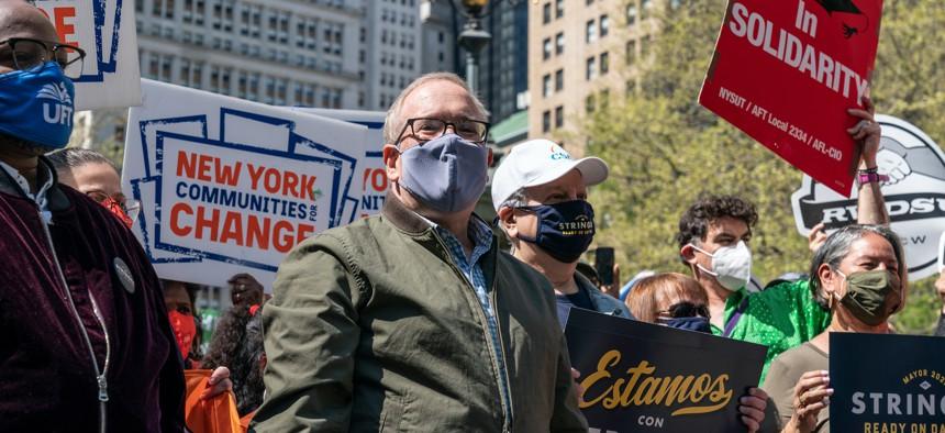 New York City Comptroller and mayoral candidate Scott Stringer