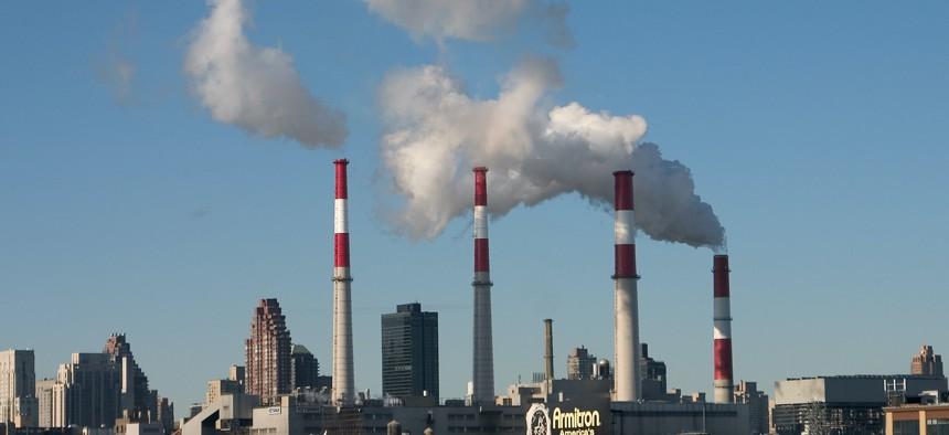 Smoke Stacks in NYC