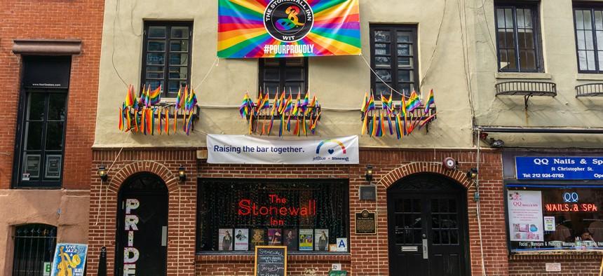 Stonewall Inn, Lower Manhattan, New York City