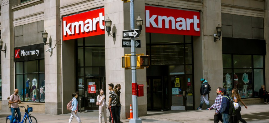 The Kmart store in Astor Place