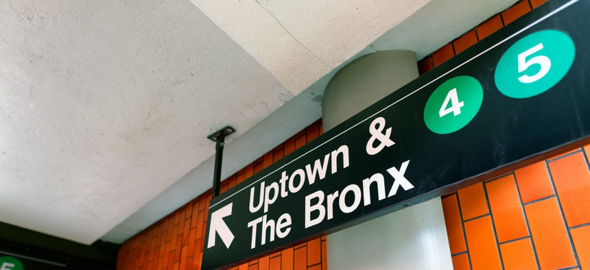 Recognizing leaders in the Bronx.