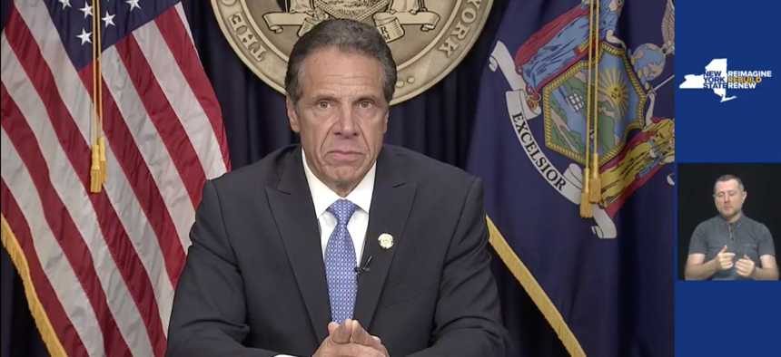 Gov. Cuomo resigned in a press conference this morning.