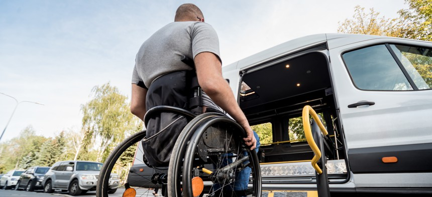 Ride-hailing companies have made small improvements in serving people with disabilities.