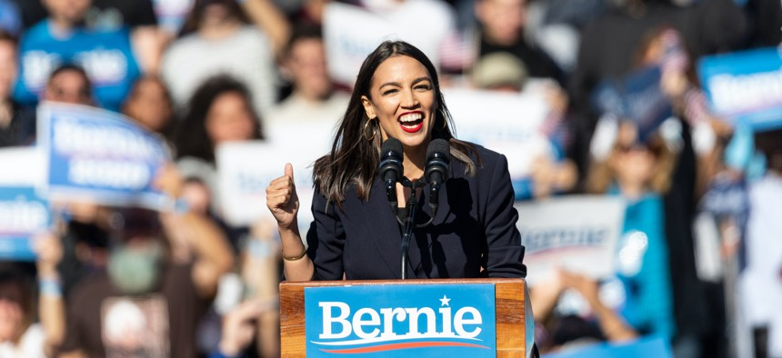 A large and growing cohort trusts AOC, she can shift the entire political landscape on an issue when she speaks.