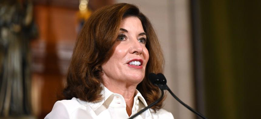 Gov. Kathy Hochul faces a tough electoral landscape next year