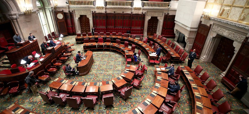 Albany Democrats have reached an agreement in principle on extending the statewide eviction moratorium.