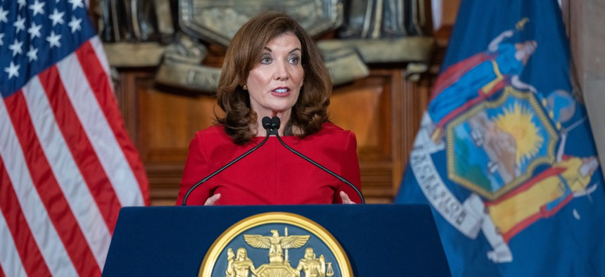 Former Assembly Member Tremaine Wright and marijuana advocate Christopher Alexander are Gov. Kathy Hochul's pics to lead the state's recreational marijuana program.