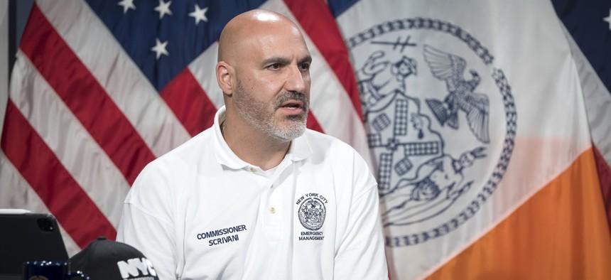 NYC Emergency Management Commissioner John Scrivani.