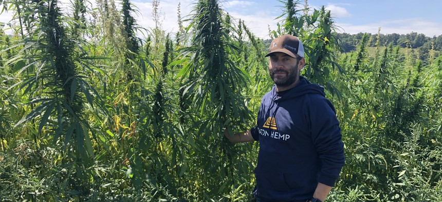 Daniel Dolgin is one of New York's first licensed hemp growers.