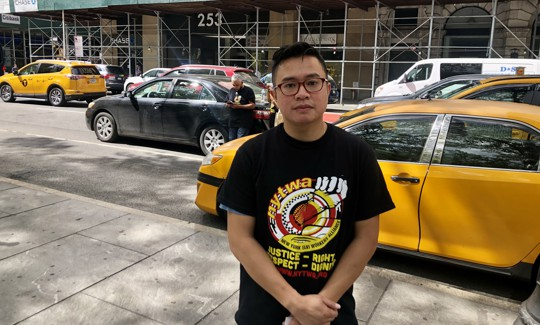 Taxi driver and medallion owner Augustine Tang.