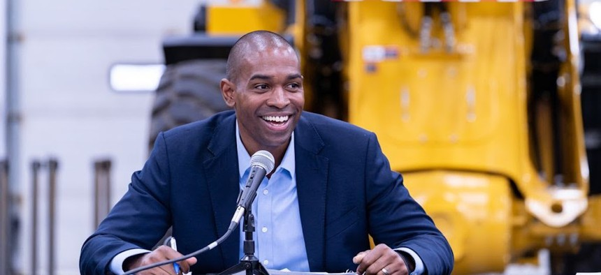 Rep. Antonio Delgado flipped New York's 19th Congressional District from red to blue in 2018.