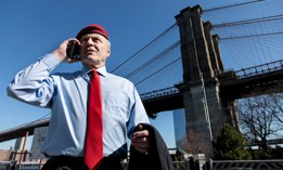 Curtis Sliwa, Republican nominee for mayor of New York City.