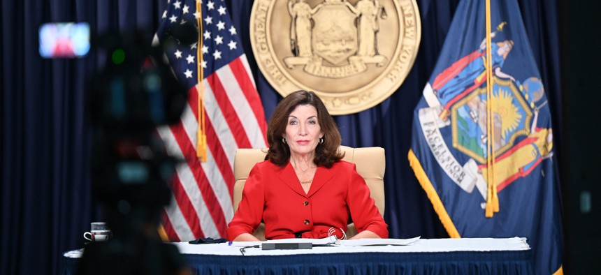 Gov. Kathy Hochul's honeymoon phase can't last forever.
