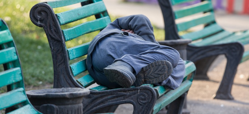 New York City is required to provide shelter to all homeless people.