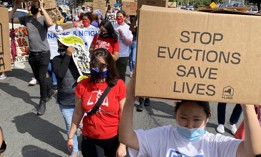 The eviction moratorium hasn't stopped landlords from turning out tenants off the books.