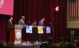The final debate between Buffalo mayoral candidates.